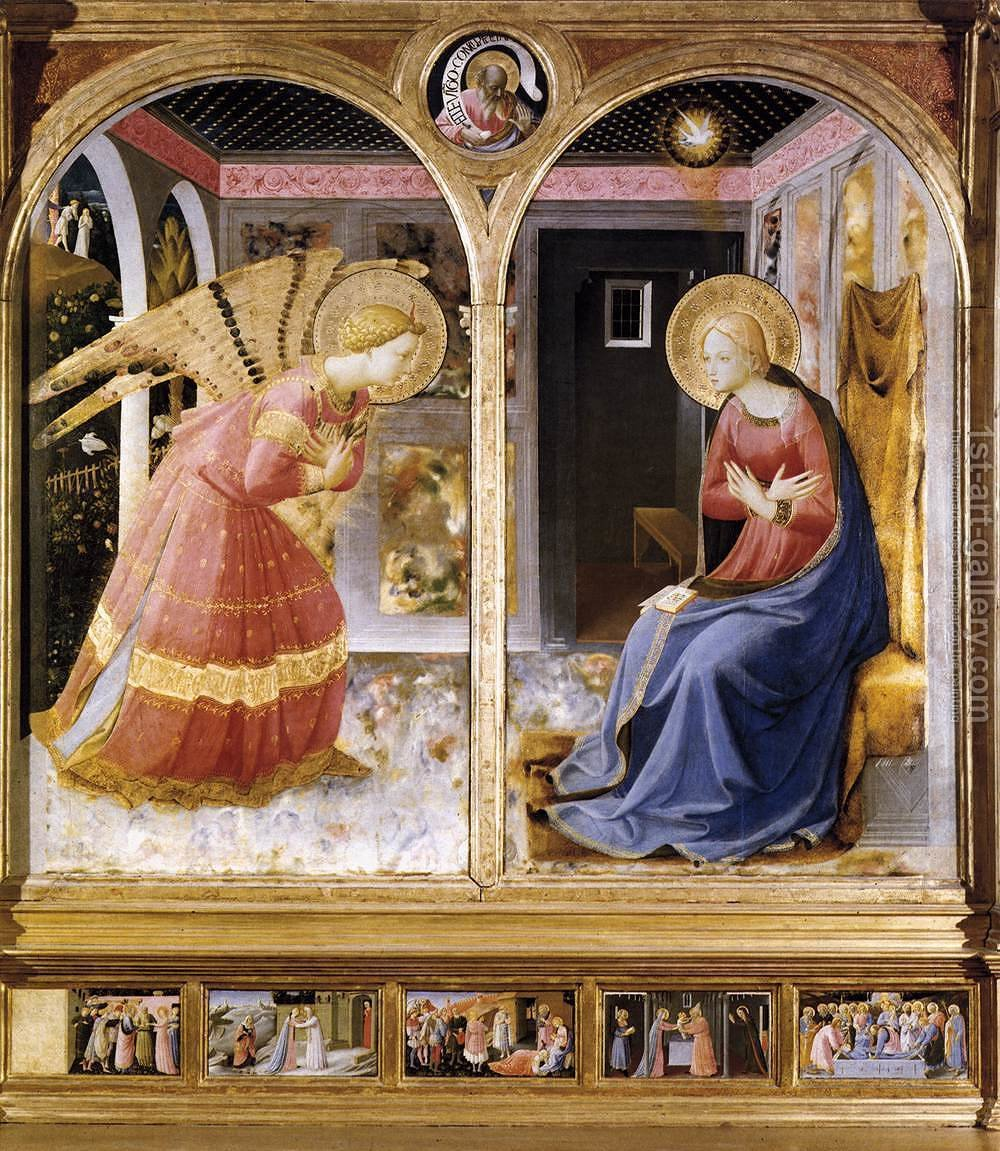 an analysis of the painting techniques in the annunciation a painting by fra angelico John white, art and architecture in italy, 1250-1400 (1966), is a masterful survey of late medieval italian art with penetrating critical essays on individual artists evelyn sandberg vavalà's two works, uffizi studies (1948) and sienese studies (1953), provide a history of florentine and sienese painting based on a close formal analysis of paintings in the principal galleries of the two cities.