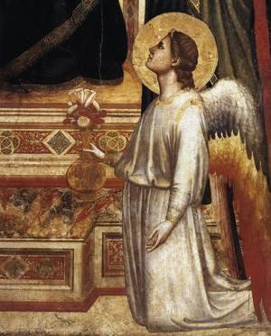 Reproduction oil paintings - Giotto Di Bondone - Ognissanti Madonna (detail 2) c. 1310