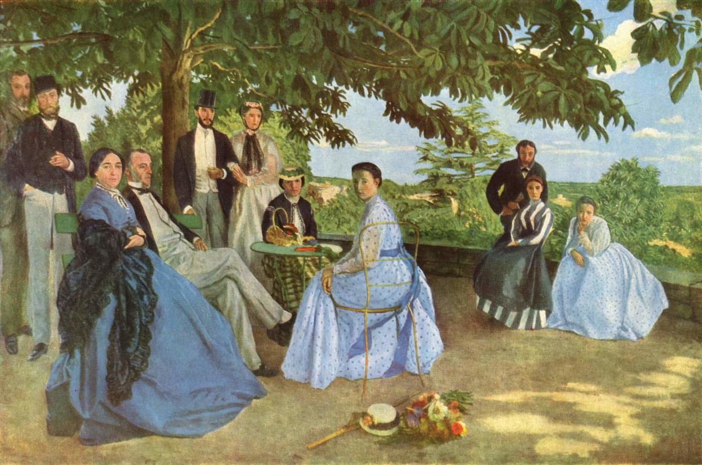 Frederic Bazille background