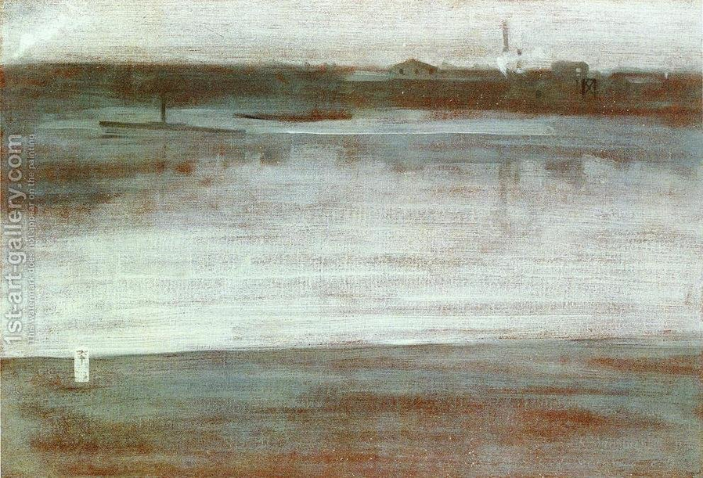 james abbott mcneill whistler harmony in grey and green